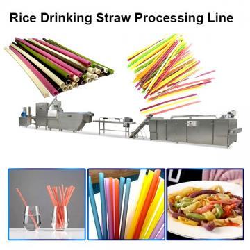 High Speed Machine Make Drinking Straw, Drinking Wheat Rice Straw Machine