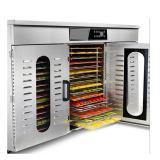 Medium Capacity Industrial Vacuum Food Freeze Dryer for Fruits Vegetables